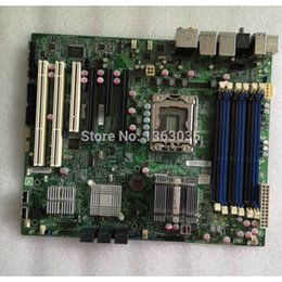 China X8SAX LGA 1366 X58 server motherboard tested working EMS DHL-freeshipping supplier 1366 motherboard suppliers