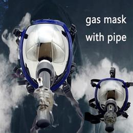 $enCountryForm.capitalKeyWord NZ - Coolest Style Gas Mask Bong Hookahs Gas Mask Water Tobacco Smoking Pipe Black Rubber Smoking Mask Acrylic Tube