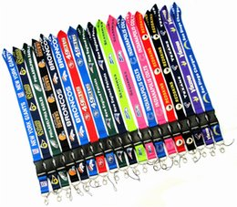 $enCountryForm.capitalKeyWord Australia - Rugby Team Cell Phone Straps Charms For Dallas Cowboy Sling Lanyard Key Chains Webbing Card Work Lifting Rope Hanging Ornaments 38 Color