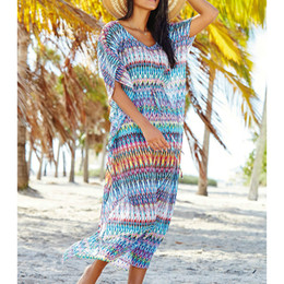 $enCountryForm.capitalKeyWord Australia - Chiffon Long Beach Dress Sexy Beach Cover up Bathing Suit Cover ups Summer Dress Swimsuit up Beachwear Pareo Sarong