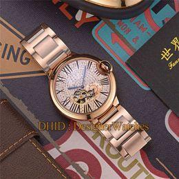 $enCountryForm.capitalKeyWord NZ - Diamond Watch Mechanical Automatic 316L Stainless Steel Case Luxury Mens Designer Watches Hollow Dial Man Woman Wristwatches montre de luxe