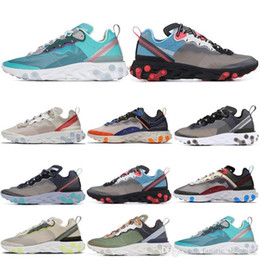 $enCountryForm.capitalKeyWord NZ - Mens Element 87 React Women Running Shoes Hyper Fusion Orewood Royal Tint Midnight Navy Sail Light Bone Designer Trainer Sports Sneakers