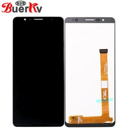 $enCountryForm.capitalKeyWord NZ - BKparts For Alcatel 3C 5026A 5026D OT5026 5026 Full LCD Display Touch Screen Glass Digitizer Complete Assembly Replacement