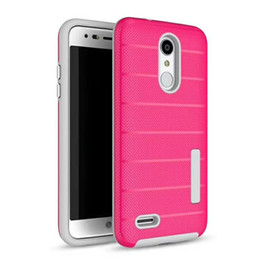 2 in 1 Phone Case TPU PC Protect-Abdeckung für iphone xs max x xr für Samsung s10 10colors lg stylo4 / puls 360 protect im Angebot