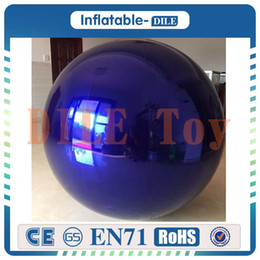 inflatable christmas balls Australia - Inflatable Mirror Ball shopping mall hotel lobby hanging decoration wedding christmas mirror arch Mirror Ball Sphere globe