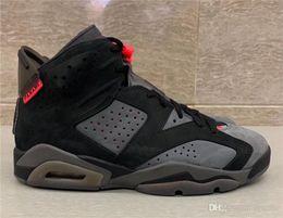 $enCountryForm.capitalKeyWord NZ - 2019 Hot Authentic 6 PSG Iron Grey Infrared 23 Black 666jordan Men Basketball Shoes 3M Reflective Sports Sneakers CK1229-001 With box