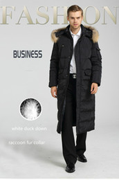 $enCountryForm.capitalKeyWord Australia - Fashion-Mens Long Coat Winter Jacket Duck Down Parkas Raccoon Fur CollarThickening Warm Overcoat Outdoor Outwear Brand Clothing Large Size