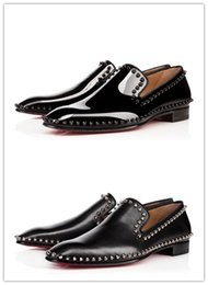 53b47f42d23 Spiked Loafers Men Red Bottom NZ | Buy New Spiked Loafers Men Red ...
