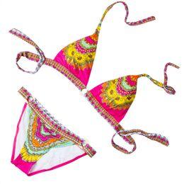 $enCountryForm.capitalKeyWord Australia - Brand New Print Women's Secret Bandage Bikini Push-up Padded Bra Swimsuit Bathing Suit Swimwear Beachwear Bohemia