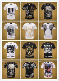 Sh Fashion Australia - new 2019 Fashion Luxury tees Mens Designer T Shirt Men's Print tshirts Summer Short Sleeve Cotton Tops Casual Brand Hip Hop Skulls T-sh