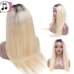 Beautiful Malaysian Lace Wigs Australia - New unprocessed best beautiful raw virgin remy human hair long #1bt613 silky straight full lace wig for women