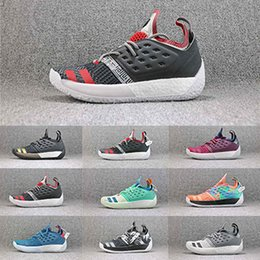 5c2b544eb8e7 James Harden Vol.2 2s MVP Men Basketball Shoes Black Blue Green Multi-color James  Harden Designer Men Sneakers wholesale Size 40-46