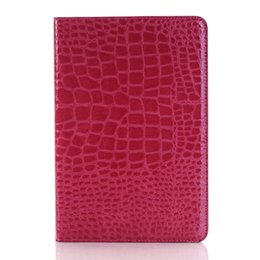 $enCountryForm.capitalKeyWord UK - Subtle Design Crocodile Leather Credit Card Shell for Ipad Pro 2018 Case with Kickstand and Flip Fold for Ipad Air for Ipad Mini Cover