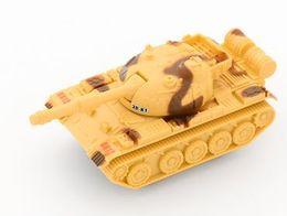 Детский Инерционный Бак Игрушечный Автомобиль Boys'Drop-proof Имитация Военная Модель Автомобиля Творческие Маленькие Подарки Смешно и Смешно