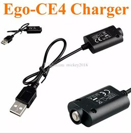 ego t charger cable Australia - 2019 ce3 ce4 Ego USB Charger usb cable Electronic Cigarette E Cig Chargers for Ego T Ego c EVOD twist vision spinner mini battery
