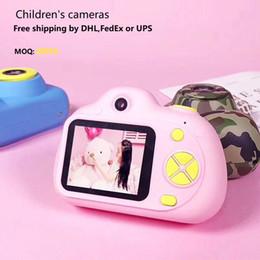 $enCountryForm.capitalKeyWord Australia - free shipping HD 1080P Kids Digital camera 2.0inch Screen Children Camcorder Photo Camera Christmas Gift