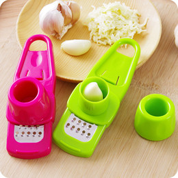 Press Cutter Australia - Presses Hoomall Creative Garlic Slicer Mini Fruit Vegetable Garlic Grinding Grater Slicer Cutter Cooking Tool Gadget Kitchen Accessories