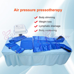 Slimming Home Australia - Portabe home use 16pcs air bags lymphatic drainage body slimming weight loss body contouring spa salon machine