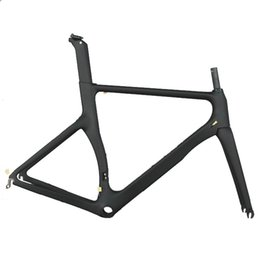 Woven carbon fiber online shopping - 18K weave carbon fiber high quality aero design bike frames including frame fork seatpost