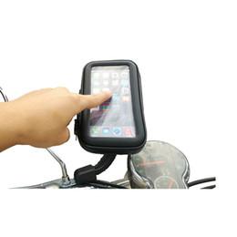 Water Resistant Gps Australia - Road Bike Bicycle MTB Motorcycle GPS Car Bracket Case Bag Handlebar Mobile Phone Mount Holder Case Cycling Waterproof Cover #158527
