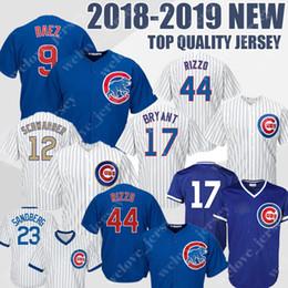 240df062b Chicago 9 Rizzo 17 Kris 44 Anthony Bryant Cubs Baseball Jerseys Cool Base  Retro Mesh Jersey
