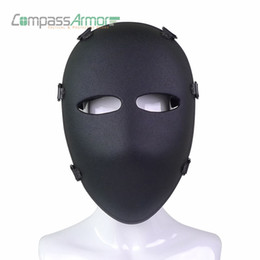 Combat masks online shopping - Army Ballistic Full Face Mask Tactical Combat Mask Hunting Protective Mask Ballistic Face Cover NIJ level IIIA A