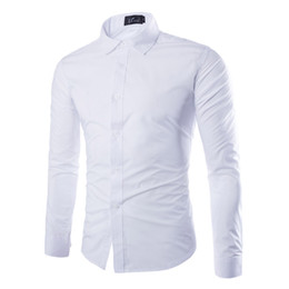 $enCountryForm.capitalKeyWord UK - 2019 New Fashion Brand Masculina classic Long Sleeve Shirt Men Korean Slim Design Formal Casual Male Dress Shirt Size M-3XL