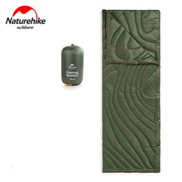 Wholesale Naturehike Multifunction Portable Blanket Quilt Ultralight Outdoor Camping Travel In Envelope Cotton Sleeping Bag