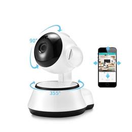 Surveillance à domicile intelligente Moniteur pour bébé Mini caméra IP de surveillance sans fil Caméra de surveillance Wifi HD Vision nocturne CCTV Caméra 2 voies audio en Solde