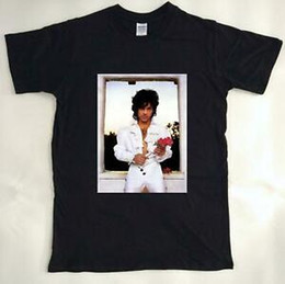 $enCountryForm.capitalKeyWord Australia - Vintage T Shirt 80s Prince Purple Rain Rose Tour For Men Brand Y798