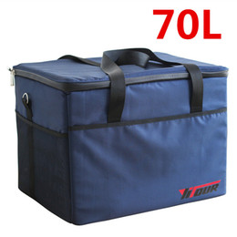 insulated picnic cooler bag Canada - Extra Large Insulated Cooler Bag Men Thicken Thermal Ice Pack Weekend Picnic Beer Storage Container Refrigerator Pouch Box
