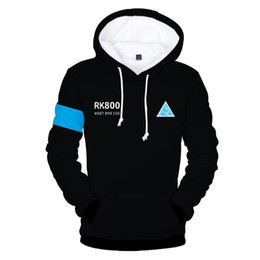 $enCountryForm.capitalKeyWord UK - Pop 2019 3D All Over Print Detroit: Become Human Cosplay Clothing Long Sleeve Fleece Hoodies Men Women Hooded Sweatshirt Autumn Clothing