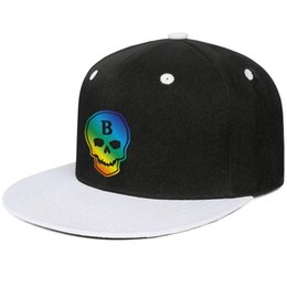 $enCountryForm.capitalKeyWord Australia - Halsey Badlands Gay pride rainbow Design Hip-Hop Caps Snapback Flat Brim Dad Hat Cute Adjustable