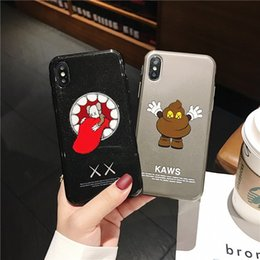 Hot Sales Iphone Case NZ - Fashion New KWAS Phone Case for Iphone XR XSMAX XS X 7P 8P 7 8 6 6sP 6 6s New Arrival Hot Sale Back Cover Phone Case 2 Styles