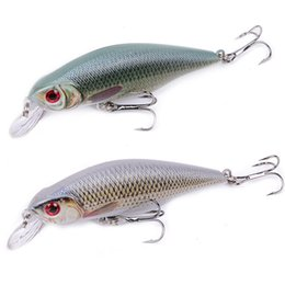 Fishing Lures 3d Australia - 1pcs Shad Minnow Fishing Lures 9cm 11g Wobblers Quality Professional Crankbait 3d Eyes Artificial Hard Baits Pesca