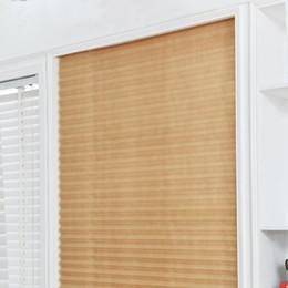 $enCountryForm.capitalKeyWord Australia - Self-Adhesive Pleated Blinds Curtains Half Blackout Windows For Bathroom Balcony Shades For Living Room Home Window Door ZJ0301