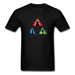 triangles games UK - Game Of Thrones Triangle Force Men Cool T-shirt Original Design Short Sleeve Black Tees Shirts Cotton Fabric Size L