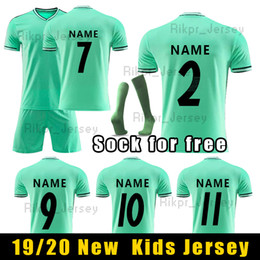 $enCountryForm.capitalKeyWord Australia - 2019-20 Children Fans Version Away Green Real Madrid soccer jersey BALE Football Jersey shirt football uniform ASENSIO ISCO kids size16-28
