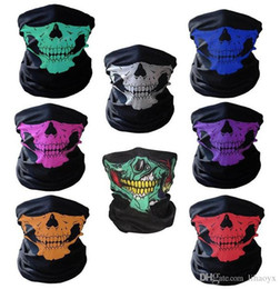 $enCountryForm.capitalKeyWord Australia - Halloween Scary Mask Festival Skull Masks Skeleton Outdoor Motorcycle Bicycle Multi Masks Scarf Half Face Mask Cap Neck Ghost a977