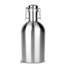 $enCountryForm.capitalKeyWord UK - 32oz Water Bottles Portable Hip Flasks Growler Stainless Steel Beer Flagon Bottle Whisky Alcohol Wine Pot Single Wall Drinking Party Flagon