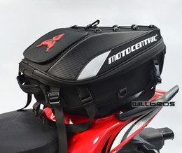 backpack sports luggage Australia - Motocentric Motorcycle Tail Bags Back Seat Bags Travel Bag Waterproof Motorbike Scooter Sports Luggage Rear Seat Rider Backpack