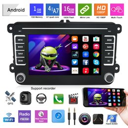general machine Australia - 7Inch Car DVD Player Applicable for Volkswagen General GPS Audio-visual Bluetooth Android Navigation Integrated Machine Original Car Style
