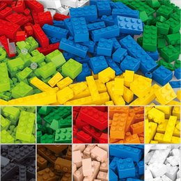 $enCountryForm.capitalKeyWord Australia - Wholesale-415 Pcs Building Blocks City DIY Creative Bricks Toys For Child Educational Sluban Building Block Bricks Compatible With