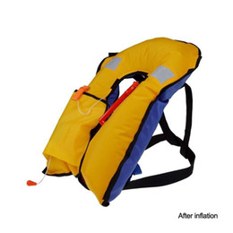 Wholesale Automatic Manuel Auto Inflate Inflatable PFD Survival Buoyancy kayak Life Jacket Vest Swiming Life Vest Fishing Jacket