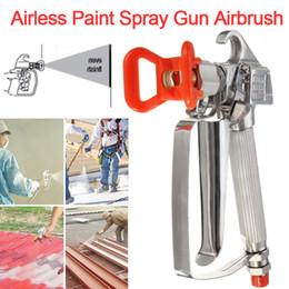 $enCountryForm.capitalKeyWord Australia - High Pressure 3600PSI 248 Bar Airless Paint Spray Gun with Spray Tip Nozzle Guard for Spraying Machine