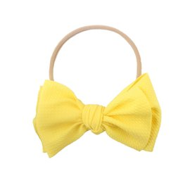 Hair Manufacturers Australia - Europe and the United States new baby baby bow hair band children's tiara hair accessories cross-border manufacturers wholesale