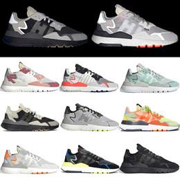 $enCountryForm.capitalKeyWord Australia - Free Shipping nite jogger breathable tennis shoes trainers mens joggers 3M Reflective footwear white black womens jogging designer sneakers