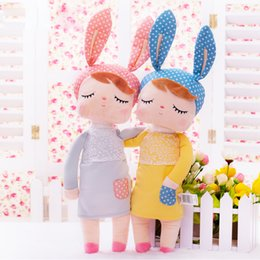 Chinese  Stuffed Toys Plush Animals Kids Toys for Girls Children Boys Kawaii Baby Plush doll Cartoon Angela Rabbit Soft Toys manufacturers
