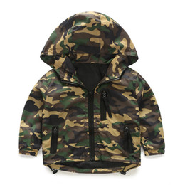 $enCountryForm.capitalKeyWord Australia - Spring Autumn Thin Camouflage Hooded Boys Jacket Kids Children Outerwear Toddlers Baby Clothes Long Sleeve 2019