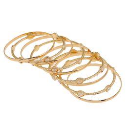 $enCountryForm.capitalKeyWord UK - hotsale rose gold luxury exquisite Hand Jewelry artificial diamond pink stone Opening Arm ring Bracelet For Women Brand girlfriend boyfriend